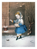 Currier &amp; Ives: Little Snowbird