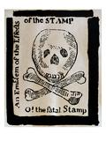 Stamp Act: Cartoon  1765