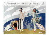 French Fashion Ad  1923