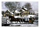 Currier &amp; Ives: Winter Morning