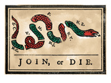Join Or Die Cartoon  1754