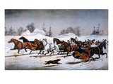 Currier & Ives Winter Scene