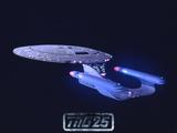 Star Trek: The Next Generation Starship USS Enterprise NCC-1701-D
