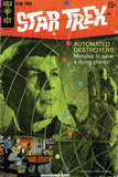 Star Trek: The Original Series Cover  Mr Spock and Automated Destroyers