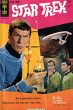 Star Trek: The Original Series Cover  Mr Spock  Captain Kirk and Sulu