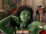 Star Trek: The Original Series  Green Orion Slave Girl