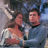 "Star Trek: The Original Series  Dr McCoy and Yeoman Barrow on ""Shore Leave"""