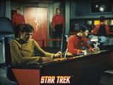 "Star Trek: The Original Series  Chekov's Counterpart and Sulu's Counterpart in ""Mirror  Mirror"""