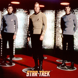 Star Trek: The Original Series Transporter with Captain Kirk  Spock and Dr McCoy