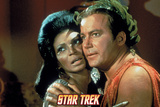 Star Trek: The Original Series  Uhura and Captain Kirk
