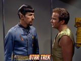 "Star Trek: The Original Series  Spock's Counterpart with Kirk in ""Mirror  Mirror"""