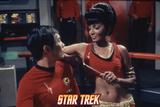 "Star Trek: The Original Series  Uhura's Counterpart with Sulu's Counterpart in ""Mirror  Mirror"""