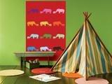 Red Rainbow Rhinos