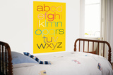 Yellow Rainbow Alphabet