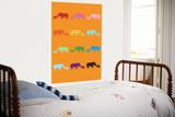 Orange Rainbow Rhinos