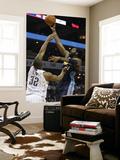 Denver Nuggets v Charlotte Bobcats: Nene and Boris Diaw