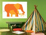 Orange Elephants