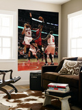 Miami Heat v Chicago Bulls - Game Five  Chicago  IL - MAY 26: Chris Bosh  Carlos Boozer and Luol De