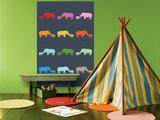 Blue Rainbow Rhinos