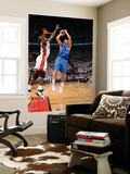 Dallas Mavericks v Miami Heat - Game One  Miami  FL - MAY 31: Dirk Nowitzki and Joel Anthony