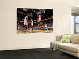 Chicago Bulls v Miami Heat - Game FourMiami  FL - MAY 24: Derrick Rose  Joel Anthony  LeBron James