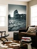 Colosseum and Via Sacra  Rome  Italy