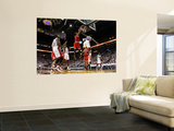Chicago Bulls v Miami Heat - Game FourMiami  FL - MAY 24: Derrick Rose  Joel Anthony and LeBron Jam