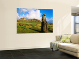 The Travelling Moai and Rano Raraku Volcano