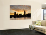 Big Ben and Houses of Parliamant  London  England