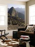 Overhead of Inca City Seen from Hut of Caretaker of Funerary Rock