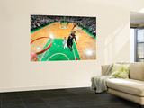 Miami Heat v Boston Celtics - Game Four  Boston  MA - MAY 9: LeBron James and Rajon Rondo