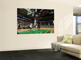 Miami Heat v Boston Celtics - Game Four  Boston  MA - MAY 9: LeBron James and Jermaine O'Neal