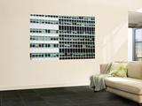 Pattern of High-Rise Office Windows  Lower Manhattan