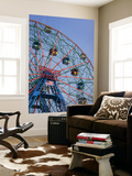 Historic Wonder Wheel Fairground  Coney Island
