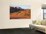 Desert Landscape at Sunrise