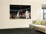 Miami Heat v Boston Celtics - Game Four  Boston  MA - MAY 9: LeBron James and Paul Pierce