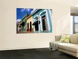 Pastel Coloured House Facades