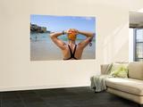 Woman Preparing for Ocean Swim at Bondi Beach