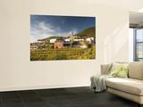 Vineyards and Village of Gabrje  Vipava Valley Wine Region
