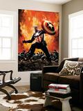Captain America No35 Cover: Captain America