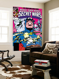 Secret Wars 7 Cover: Captain America  Spider Woman  Doctor Octopus and Wolverine