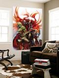Secret Invasion: Inhumans No3 Cover: Medusa  Gorgon  Karnak and Triton