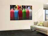 Colourful Juice Bottles  Chowpatty Beach