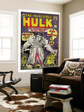 Marvel Comics Retro: The Incredible Hulk Comic Book Cover No1  with Bruce Banner (aged)