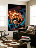 Marvel Knights 4 20 Cover: Mr Fantastic  Invisible Woman  Human Torch  Thing and Fantastic Four