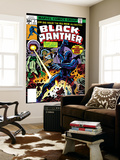 Black Panther No2 Cover: Black Panther  Princess Zanda and Hatch-22 Charging