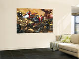 Ultimates No3 Cover: Captain America