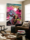 The Mighty Avengers 21 Cover: Wasp  Jocasta and Scarlet Witch