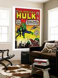 Marvel Comics Retro: The Incredible Hulk Comic Book Cover No3 (aged)