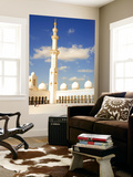 Exterior of Sheikh Zayed Bin Sultan Al Nahyan Mosque (Also known as Sheikh Zayed Grand Mosque)
